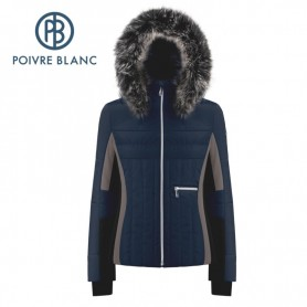 Veste de ski POIVRE BLANC W19-1002 WO/A Marine Femme