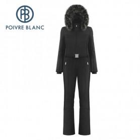 Combinaison de ski POIVRE BLANC W19-0830 WO/A Noir Femme