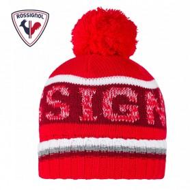 Bonnet de ski ROSSIGNOL Gary Rouge Homme