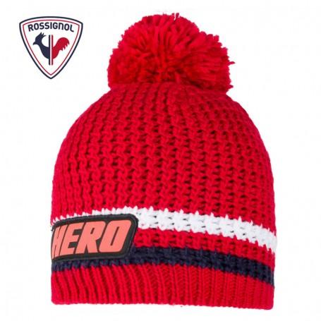 Bonnet de ski ROSSIGNOL Hero Rouge Junior