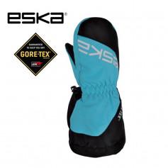 Moufles de ski Gtx ESKA Boaz Baby Noir / Bleu Junior