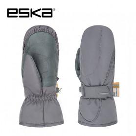 Moufles de ski ESKA Tribe Gris Femme