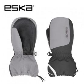 Moufles de ski ESKA Bubble Noir / Gris Junior