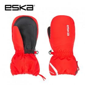 Moufles de ski ESKA Bubble Rouge Junior