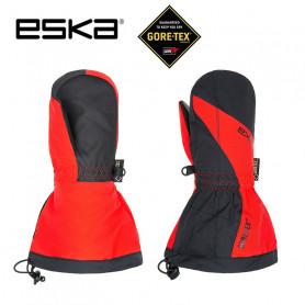 Moufles de ski Gtx ESKA Boaz Pro Noir / Rouge Junior