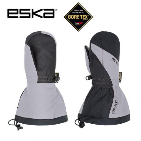 Moufles de ski Gtx ESKA Boaz Pro Noir / Gris Junior