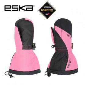 Moufles de ski Gtx ESKA Boaz Pro Noir / Rose Junior