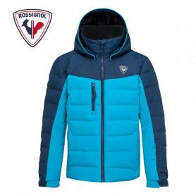Doudoune de ski ROSSIGNOL Boy Polydown Bleu Garçon