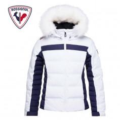 Doudoune de ski ROSSIGNOL Girl Hiver Polydown Blanc Fille