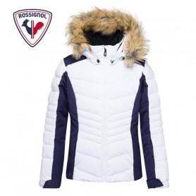 Doudoune de ski ROSSIGNOL Girl BB Polydown Pearly Blanc Fille