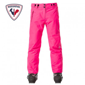 Pantalon de ski ROSSIGNOL Girl Ski Rose Fille
