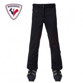 Pantalon de ski ROSSIGNOL Girl Ski Softshell Noir Fille