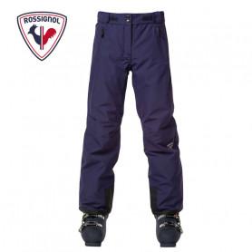 Pantalon de ski ROSSIGNOL Girl Controle Bleu nuit Fille