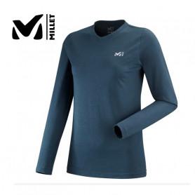 T-shirt MILLET Wall LS Bleu Femme