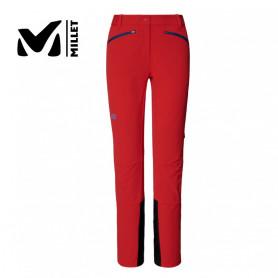 Pantalon ski de rando MILLET Extreme Rutor Shield Rouge orangé Femme