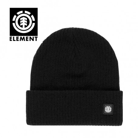 Bonnet à revers ELEMENT Flow II Noir Unisexe