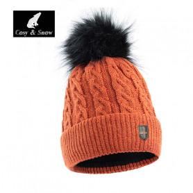 Bonnet de ski COSY & SNOW Steph Rouille Unisexe