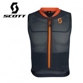 Veste de protection SCOTT Airflex Jr Vest Protector Bleu / Orange Junior