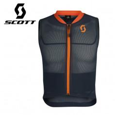 Veste de protection SCOTT Airflex Jr Vest Protector Bleu / Orange Junior