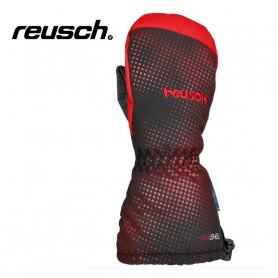 Moufles de ski REUSCH Maxi R-tex® XT Noir / Rouge BB Garçon