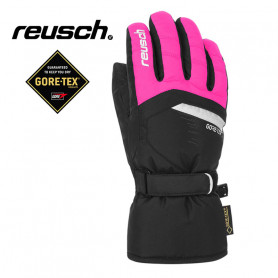Gants de ski REUSCH Bolt Gtx Noir / Rose Junior