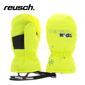 Moufles de ski REUSCH Kids Jaune BB Junior