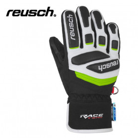 Gants de ski REUSCH Race R-Tex Blanc / Vert Junior