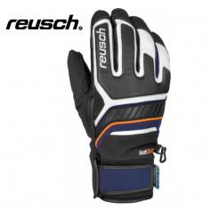 Gants de ski REUSCH Thunder R-Tex Noir / Bleu Homme