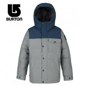 Blouson BURTON Boys Barnone Bleu / Gris Junior