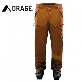 Pantalon de ski ORAGE Exodus Caramel Homme