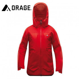 Veste de ski ORAGE Alaskan Rouge Homme
