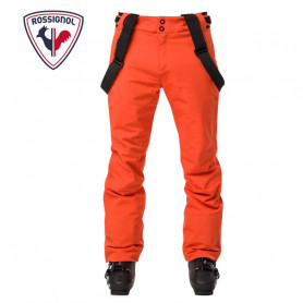 Pantalon de ski ROSSIGNOL Course Orange Homme