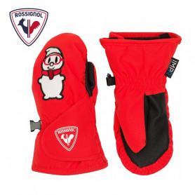 Moufles de ski ROSSIGNOL Baby ImpR Rouge orangé BB Garcon