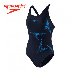 Maillot de bain SPEEDO Boomstar Placement Bleu Femme