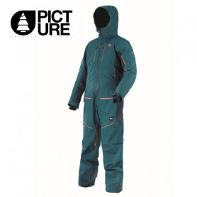 Combinaison de ski PICTURE Xplore Suit Bleu pétrole Homme
