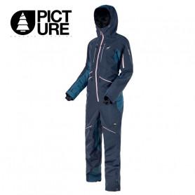 Combinaison de ski PICTURE Xena Suit Bleu profond Femme