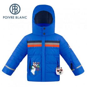Veste de ski POIVRE BLANC W19-0903 BBBY Bleu roi BB Garçon