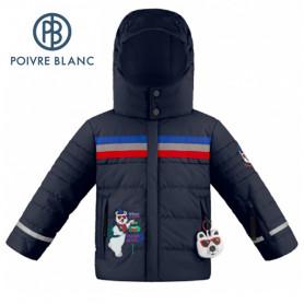 Veste de ski POIVRE BLANC W19-0903 BBBY Bleu marine BB Garçon