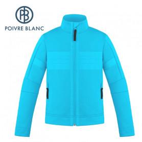 Veste stretch POIVRE BLANC W19-1712 JRBY Bleu Garçon
