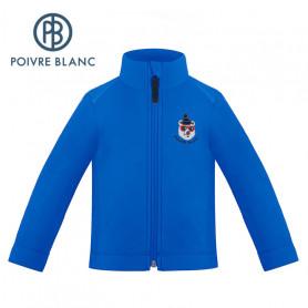 Veste polaire POIVRE BLANC W19-1510 BBBY Bleu roi BB Garcon