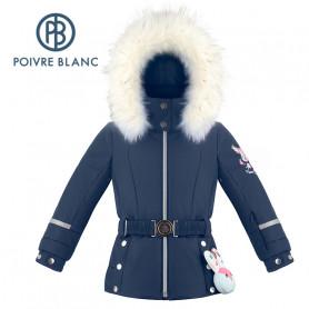 Veste de ski POIVRE BLANC W19-1008 BBGL/A Bleu marine BB Fille