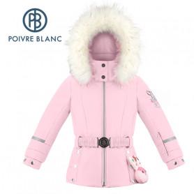 Veste de ski POIVRE BLANC W19-1008 BBGL/A Rose clair BB Fille