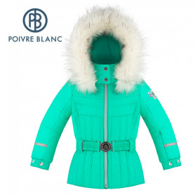 Veste de ski POIVRE BLANC W19-1002 BBGL/A Vert BB Fille