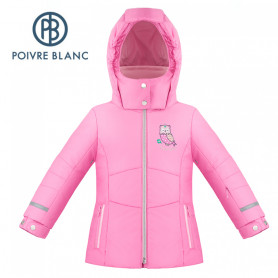 Veste de ski POIVRE BLANC W19-1009 BBGL/A Rose BB Fille
