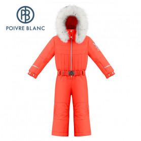 Combinaison de ski POIVRE BLANC W19-1030 BBGL Orange BB Fille