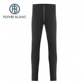 Pantalon merinos POIVRE BLANC W19-1820 WO Noir Femme