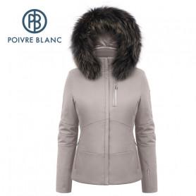 Blouson de ski POIVRE BLANC W19-0802 WO/B Beige Femme