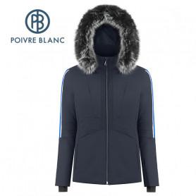 Blouson de ski POIVRE BLANC W19-0803 WO/A Bleu marine Femme