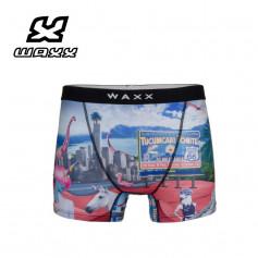 Boxer microfibre WAXX New World Multicolore Homme
