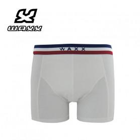 Boxer WAXX Frenchy White Blanc Homme